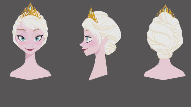"""Elsa Hair Story"" Clip - THE STORY OF FROZEN: MAKING A DISNEY ANIMATED CLASSIC"