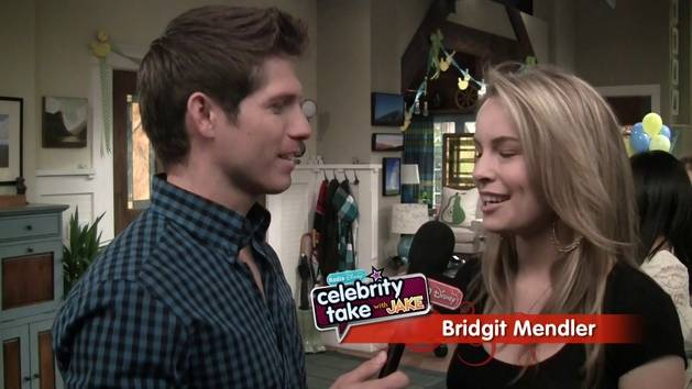 On the Set of Good Luck Charlie - Celebrity Take with Jake