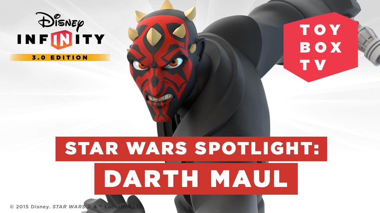Ep. 94 - Star Wars Spotlight: Darth Maul - Disney Infinity Toy Box TV