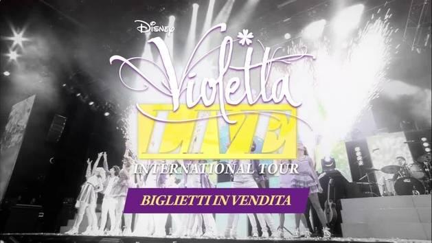 Violetta Live - Biglietti