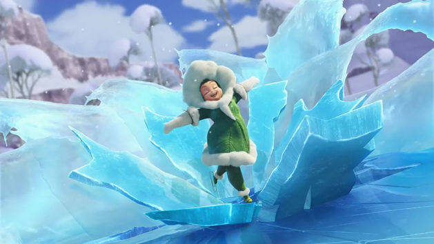 Tinker Bell: Secret of the Wings: How to Ice Skate
