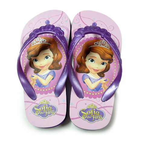 Sofia the First - Print Moulded Strap Slippers