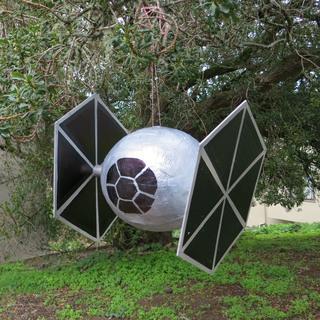 Star Wars Day Crafts: TIE Fighter Piñata