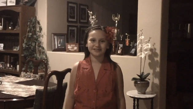 Christine, 10, CA sings Part of Your World
