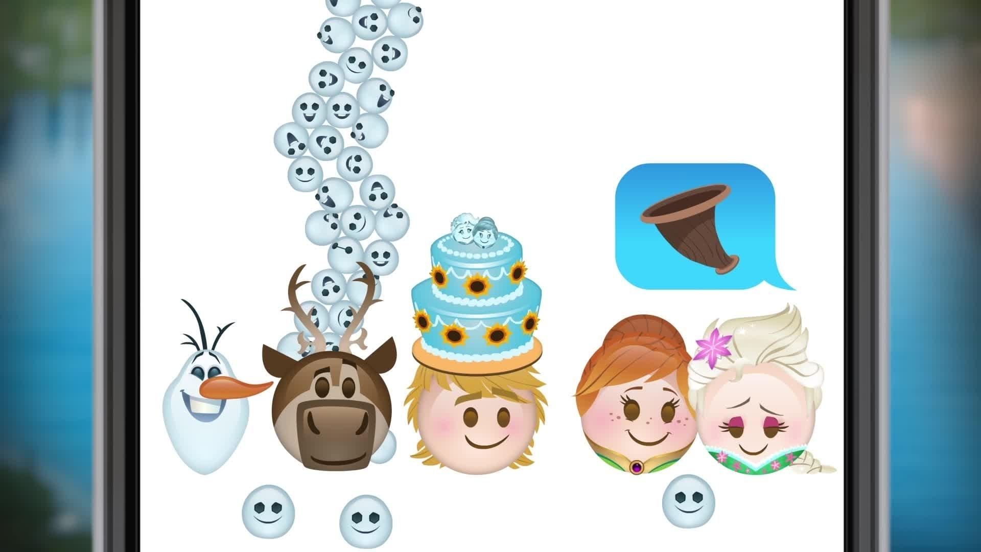 Disney Emojis – Une Fête Givrée