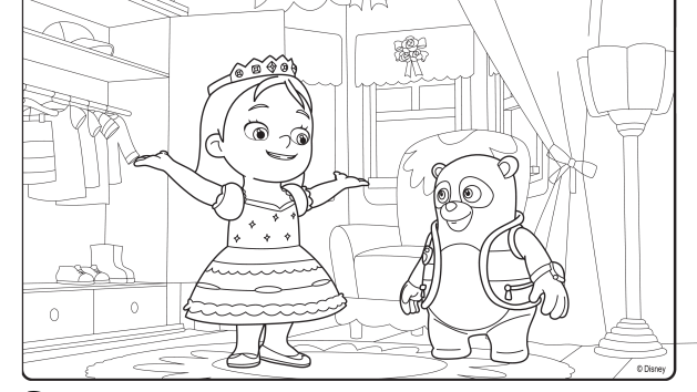Special Agent Oso Coloring Pages Of Gangster Coloring Pages