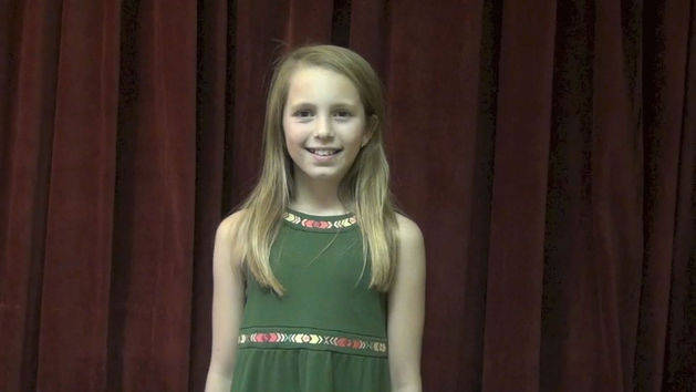 Abigail, 10, CA sings Part of Your World