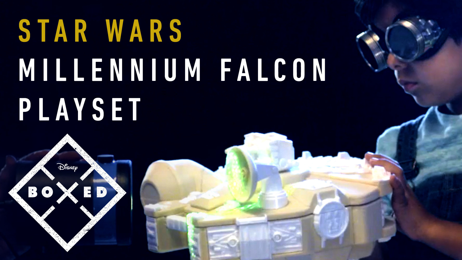 BOXED: CRAFTING A STAR WARS GALACTIC HEROES MILLENNIUM FALCON