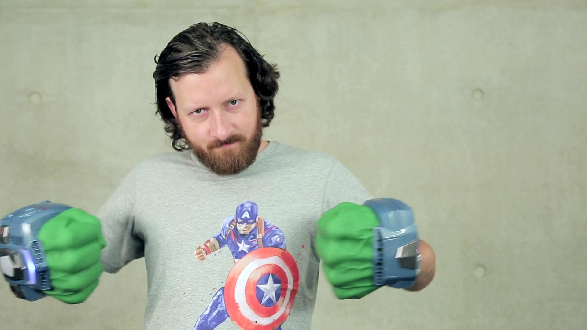 First Look: Hulk Fists Playmation - Disney Insider