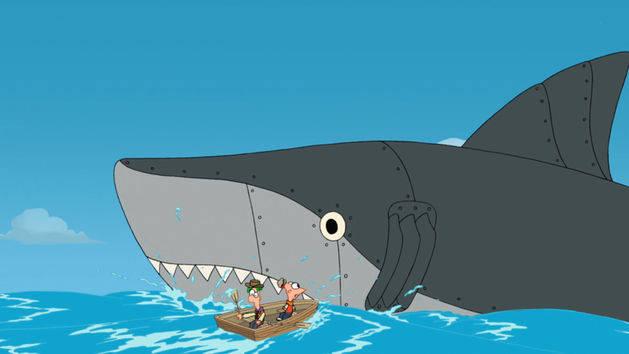 Dentro del tiburón / La Granja Lunar