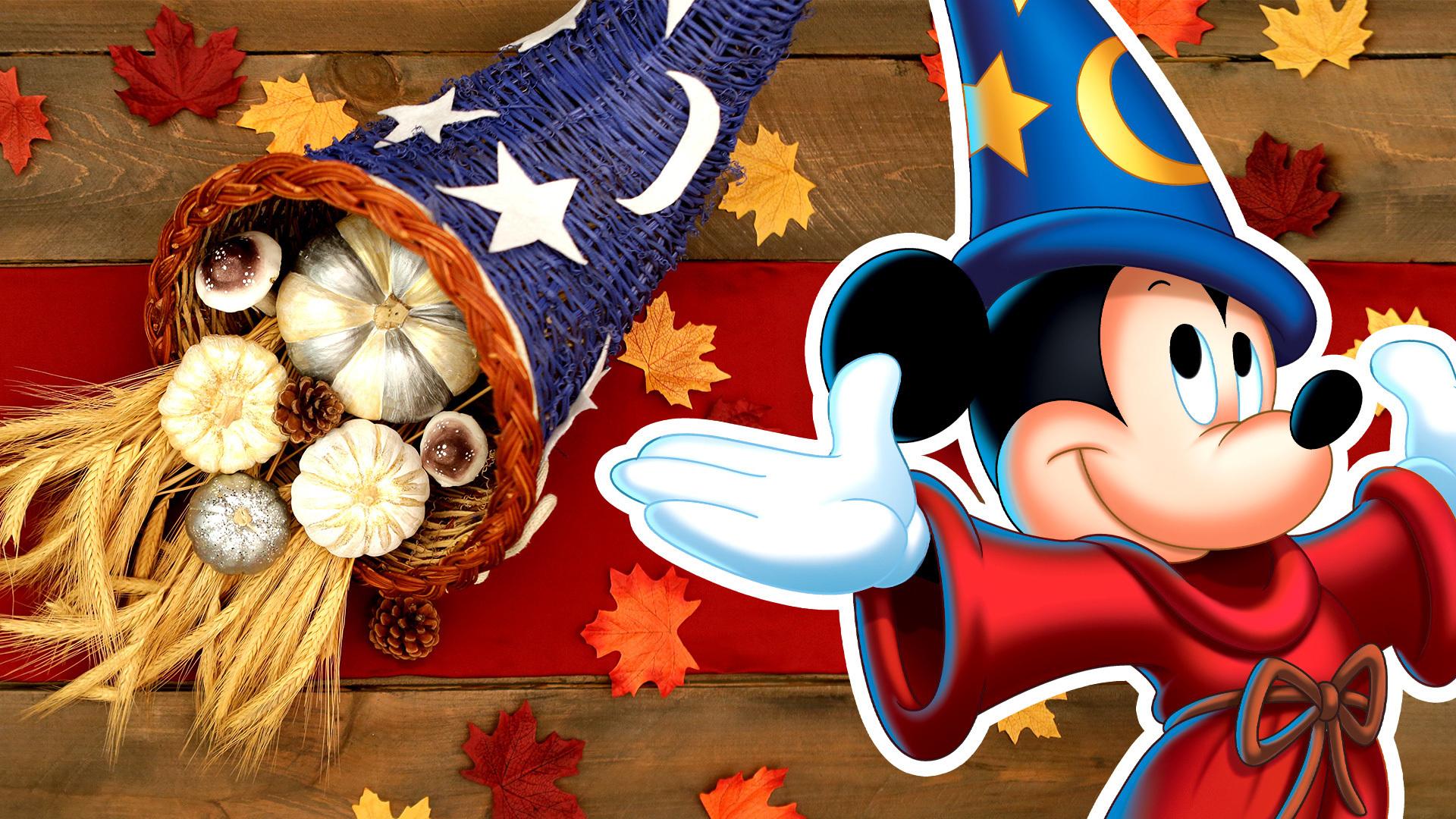 Disney Family: Mickey Sorcerer's Hat Cornucopia DIY