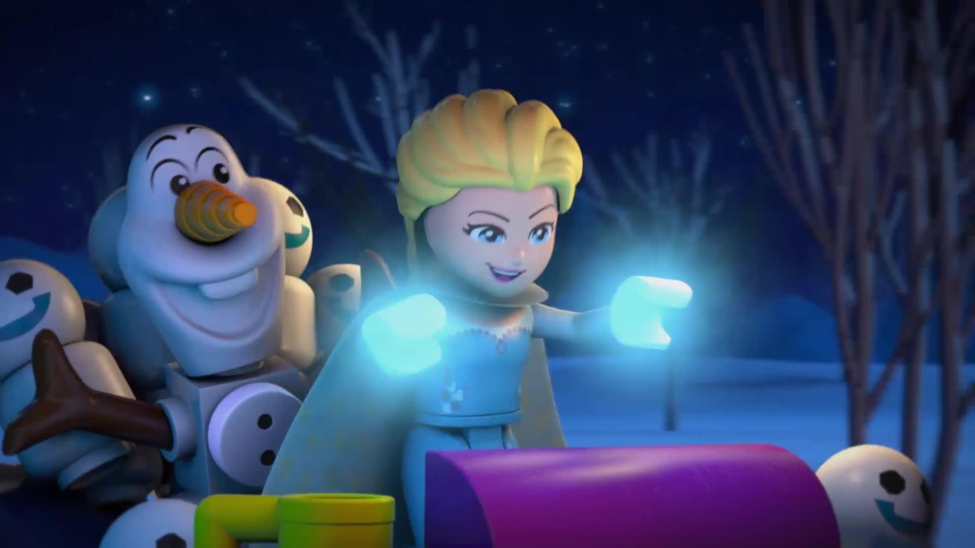 Frozen Magie van het Noorderlicht