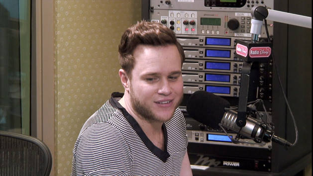 Olly Murs on Working With Demi Lovato