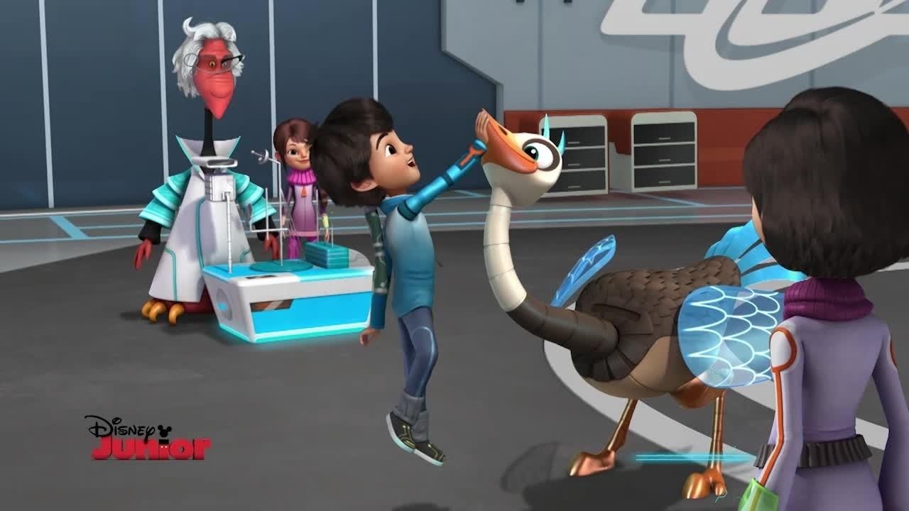 Doppio episodio serale da lunedì: Capitan Jake e Miles dal futuro