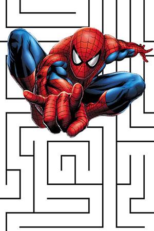 Spidey vs. Lizard Maze