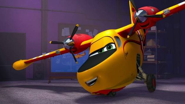 """That's hot!"" - Dipper Bomb - Planes: Fire & Rescue"