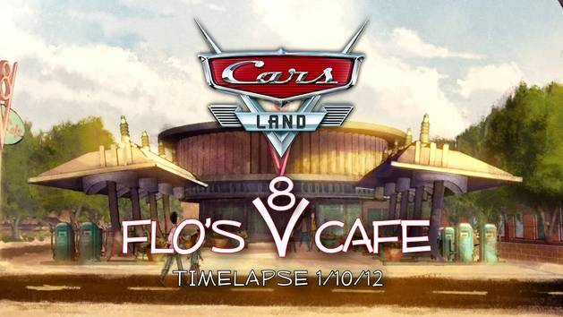 Cars Land: Flo's V-8 Cafe