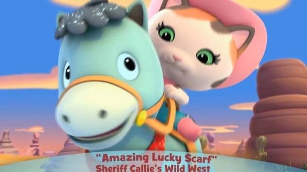 Sheriff Callie's Wild West: Amazing Lucky Scarf - Music Video
