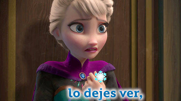 Libre Soy - Frozen Karaoke