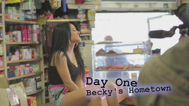 Becky from The Block (Behind The Scenes) - Becky G