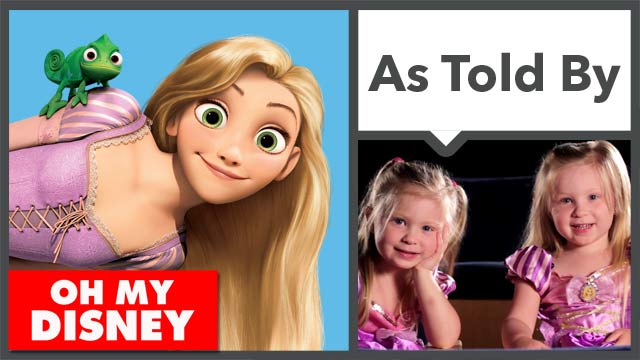 Tangled as Told by Four Year Olds