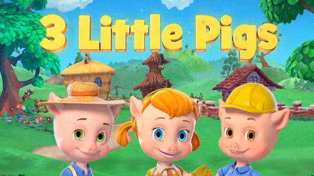 Meet the Three Little Pigs