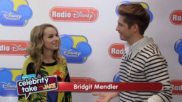 Bridgit Mendler on the Radio Disney Music Awards - Celebrity Take with Jake