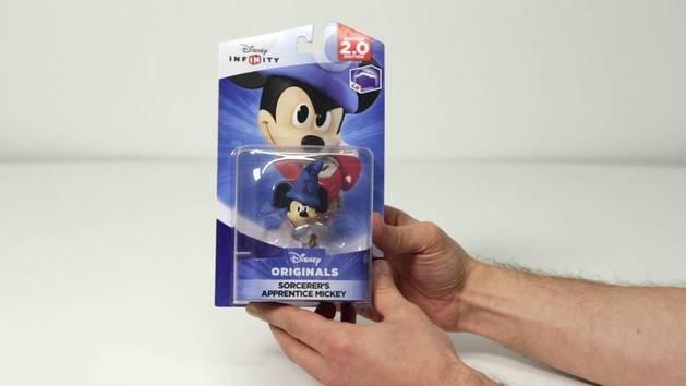 Disney Infinity's Crystal Sorcerer's Apprentice Mickey - First Look - Disney Insider