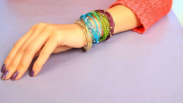 DIY Cinderella Inspired Bracelets