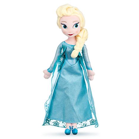Elsa Plush Doll - Frozen - Medium - 20''