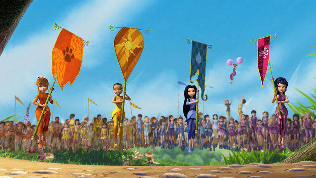 History of the Games - Disney Fairies Shorts