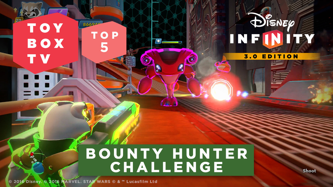Bounty Hunter Challenge - Top 5 Toy Boxes - Disney Infinity Toy Box TV