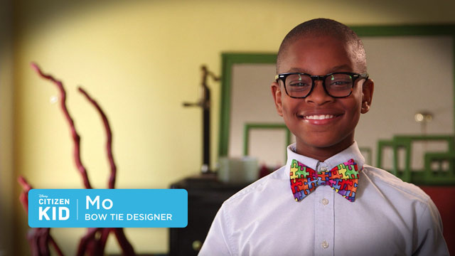 Moziah, Bow Tie Designer - Citizen Kid by Disney