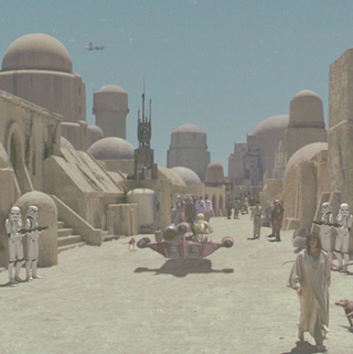 Mos Eisley Spaceport