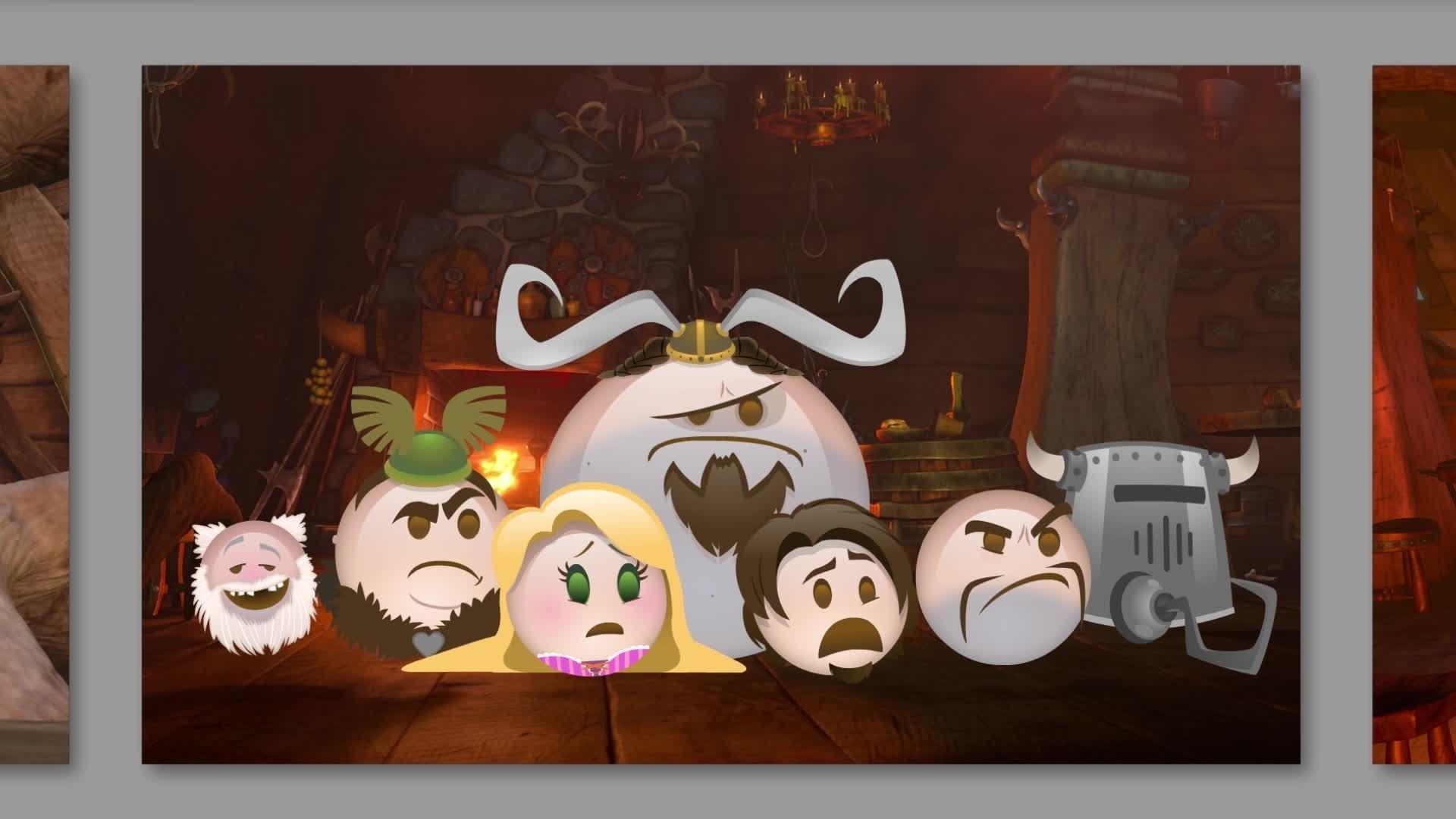 Enredados contado en emoji