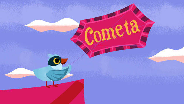 Cometa - Words with Wazoh - It's a Small World Short