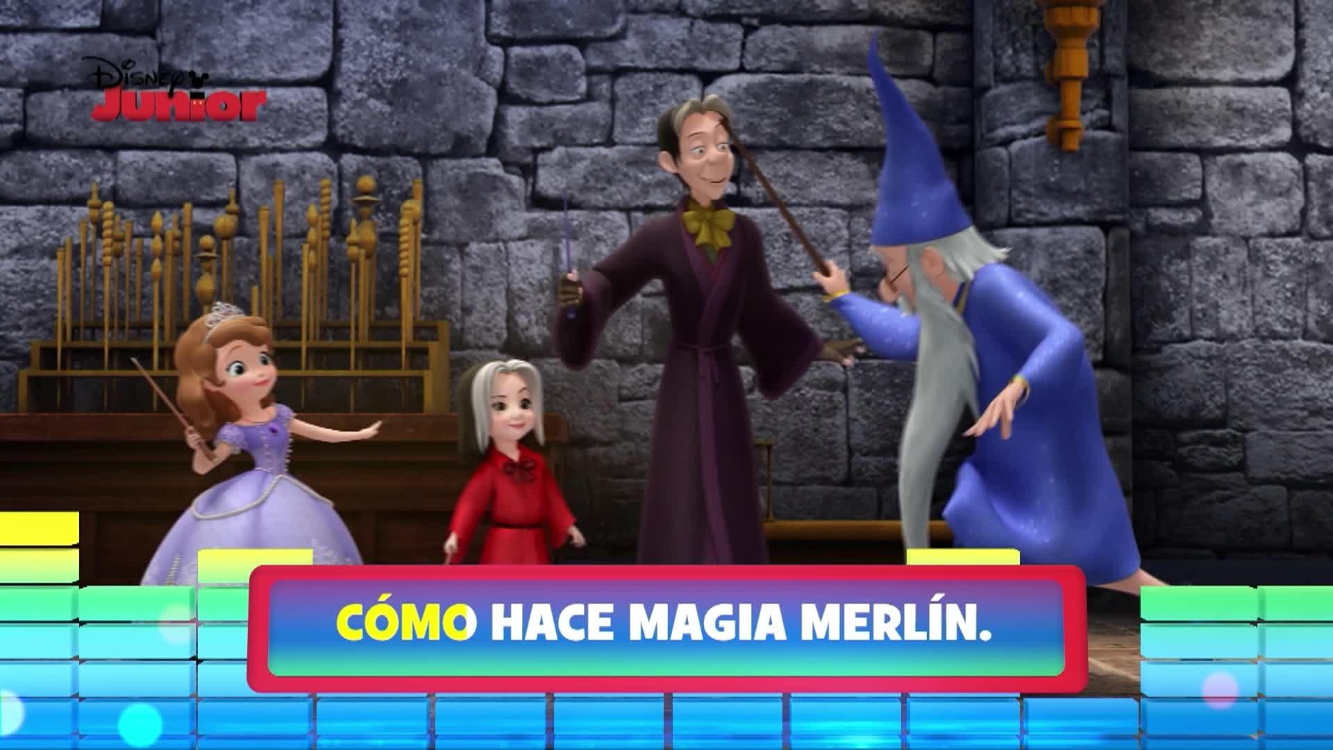 Magia como Merlín