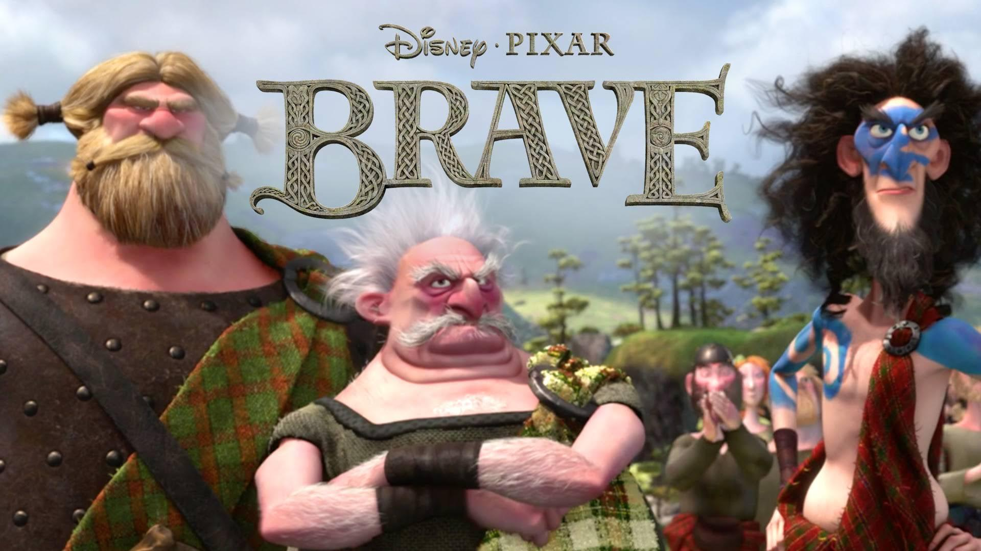 Brave   Dirty, Hairy People