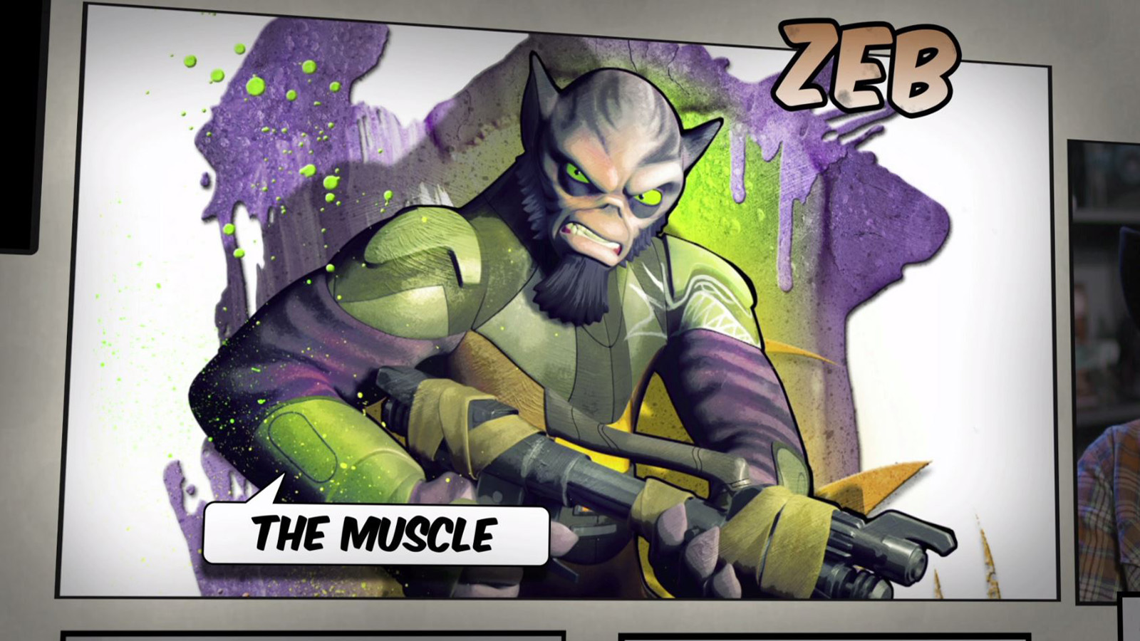 Star Wars Rebels: Meet Zeb, the Muscle