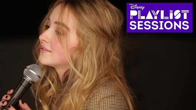 Can't Blame a Girl for Trying - Sabrina Carpenter - Playlist Sessions