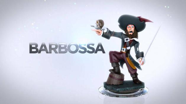 Barbossa - POTC Play Set - DISNEY INFINITY