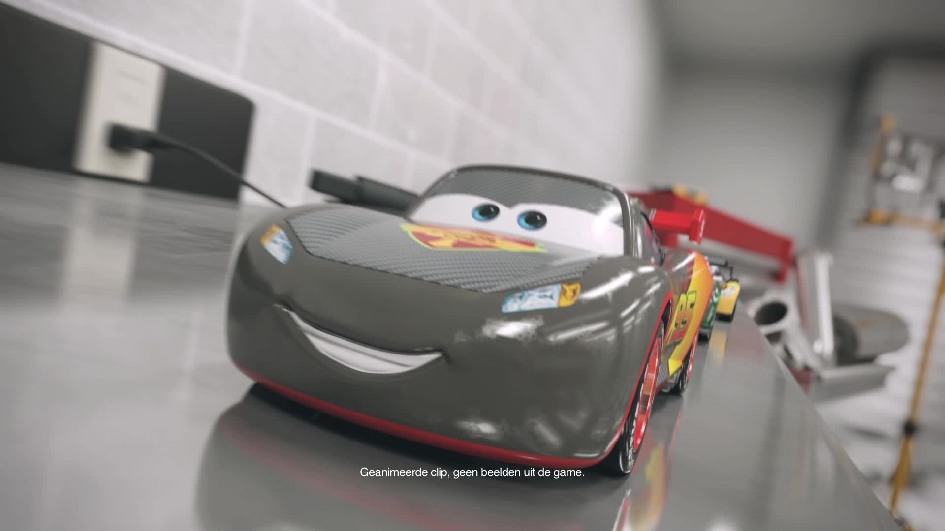 Cars Daredevil Garage - Testrit in de Garage