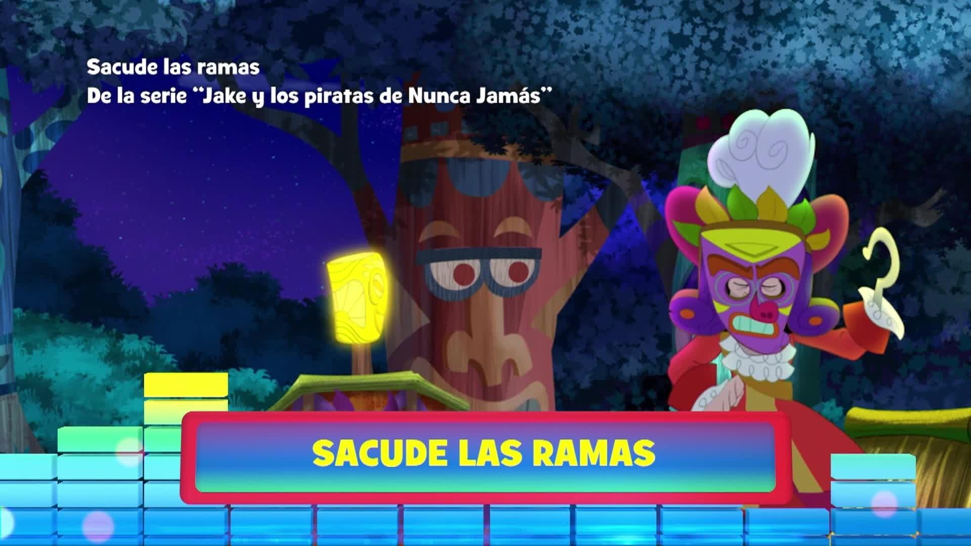 """Sacude las ramas. De la serie: """"Jake y los piratas de Nunca Jamás"""""""