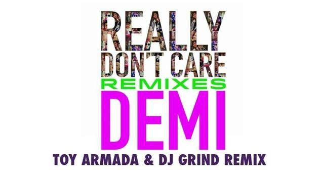 """Really Don't Care"" (Toy Armada & DJ GRIND Remix) (Audio Only) - Demi Lovato"