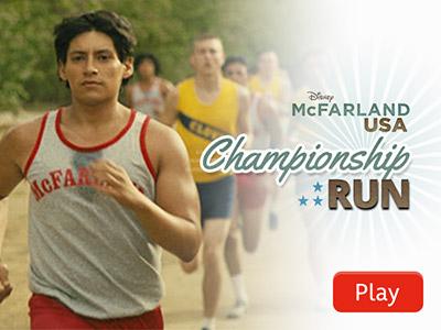 McFarland, USA: Carrera por el Campeonato