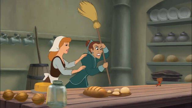 Mice In The Kitchen - Clip - Cinderella III: A Twist in Time