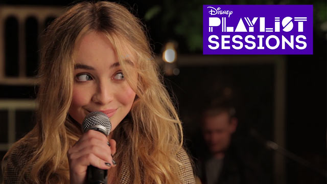 White Flag | Sabrina Carpenter | Disney Playlist Sessions
