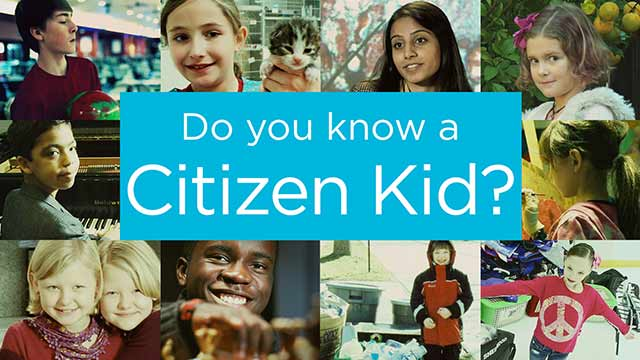 Ordinary Kids Doing Extraordinary Things - Citizen Kid by Disney