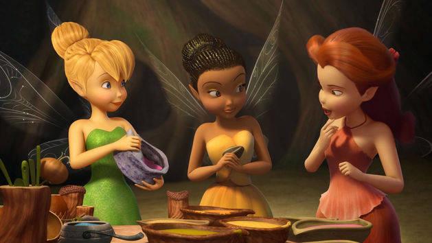 Disney Fairies Shorts - Sprekende Kleuren