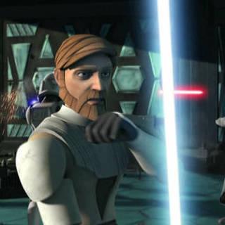Anakin Saves Obi-Wan